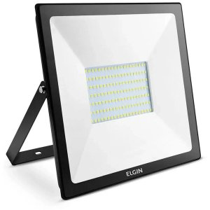 Refletor De Led Power Ip65 100W Bivolt 6500K Elgin