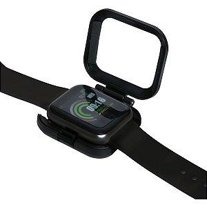 Relogio Smartwatch Ps300 Pulseira Ace Preto Newex