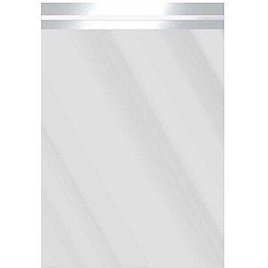 Saco Adesivado Metalizado Prata 25X35+3Cm Aba Packpel