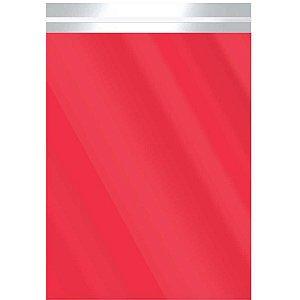Saco Adesivado Metalizado Verm. 30X42+3Cm Aba Packpel