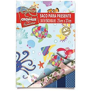 Saco Metalizado 25X37Cm Sortidos Mix Cromus