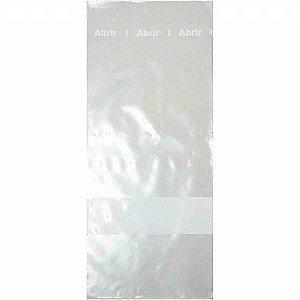 Saco Para Armazenagem Alimento 12X30X0,06 Cristal Afasa