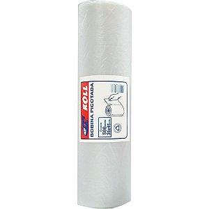 Saco Plastico Em Bobina 35X45 Picotada 5Kg. C/500Unid Central Plast