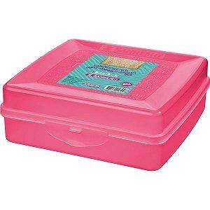 Sanduicheira Plastica Rosa Sanremo