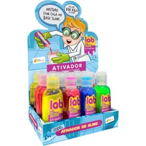 Slime Ativador Lab Slime Doce Brinquedo