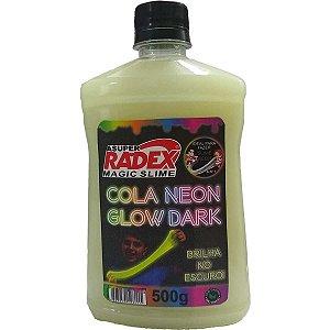 Slime Cola Glow Neon Dark Fluor 500G Radex
