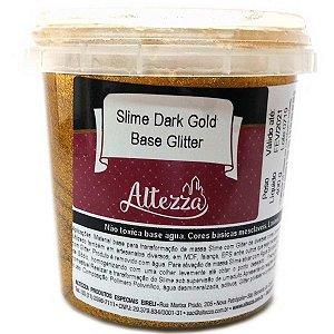 Slime Dark Gold Base Glitter 400G Altezza