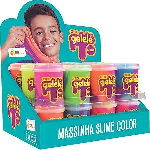 Slime Gelelé Slime Pote Color Doce Brinquedo