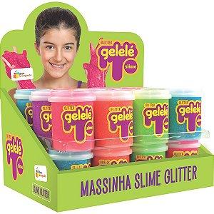 Slime Gelelé Slime Pote Glitter Doce Brinquedo