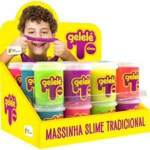 Slime Gelelé Slime Pote Tradicional Doce Brinquedo