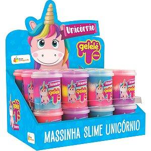 Slime Gelelé Slime Pote Unicornio Doce Brinquedo