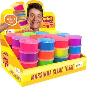 Slime Gelele Slime Torre Tradicional Doce Brinquedo