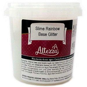 Slime Rainbow Base Glitter 400G Altezza