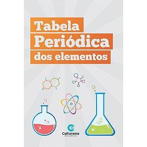 Tabela Periodica Escolar 27X20Cm Culturama