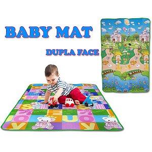 Tapete Em Eva Baby Mat Dupla Face 180X120Cm Evamax
