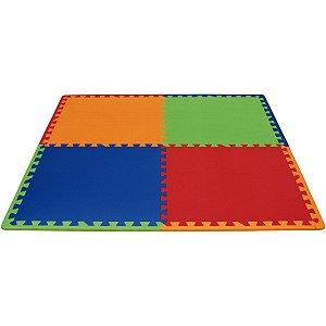 Tapete Em Eva Play Mat Color 52X52Cm 8Mm 4Pe Evamax