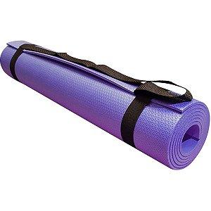 Tapete Em Eva Yoga Lilas 170X60Cm 5Mm+Alca Evamax