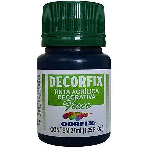 Tinta Acrilica Fosca Decorfix Azulturquesa  37Ml. Corfix