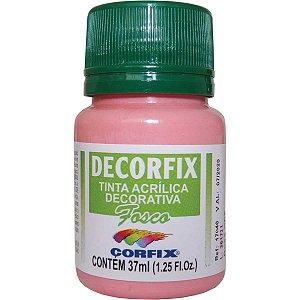 Tinta Acrilica Fosca Decorfix Rosa Cha 37Ml Corfix