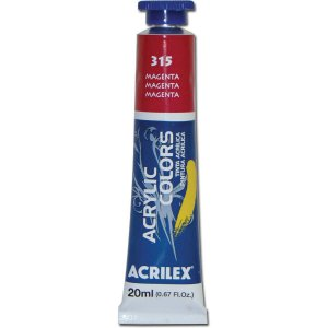 Tinta Acrilica Profissional Magenta 20Ml Acrilex