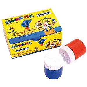 Tinta Guache 015Ml 06 Cores Maripel