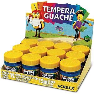 Tinta Guache 015Ml Amarelo Ouro Acrilex