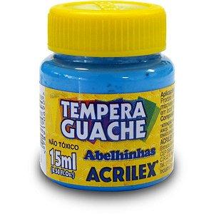 Tinta Guache 015Ml Azul Celeste Acrilex