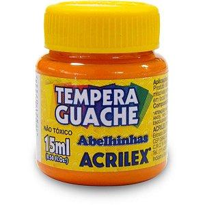 Tinta Guache 015Ml Laranja Acrilex