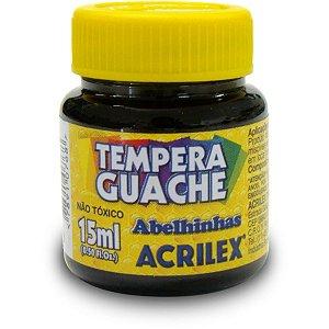 Tinta Guache 015Ml Preto Acrilex