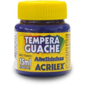 Tinta Guache 015Ml Violeta Acrilex
