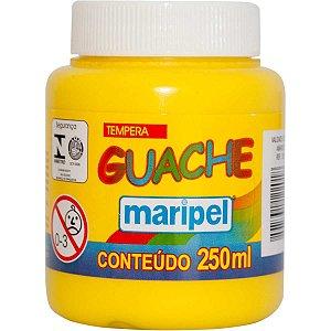 Tinta Guache 250Ml Amarelo Maripel