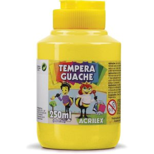 Tinta Guache 250Ml Amarelo Limao Acrilex