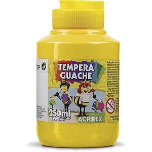 Tinta Guache 250Ml Amarelo Ouro Acrilex