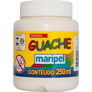 Tinta Guache 250Ml Branco Maripel