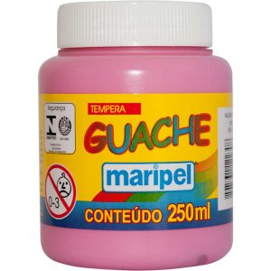 Tinta Guache 250Ml Rosa Maripel
