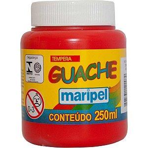 Tinta Guache 250Ml Vermelho Maripel
