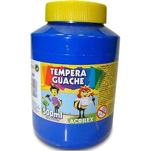 Tinta Guache 500Ml Azul Acrilex