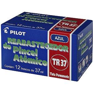 Tinta Marcador Permanente Reabastecedor 037Ml Azul Pilot