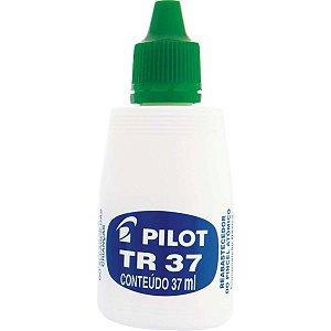 Tinta Marcador Permanente Reabastecedor 037Ml Verde Pilot