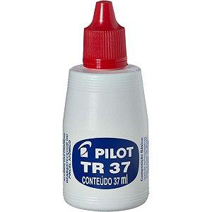 Tinta Marcador Permanente Reabastecedor 037Ml Vermelho Pilot