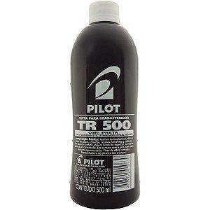Tinta Marcador Permanente Reabastecedor 500Ml Preto Pilot