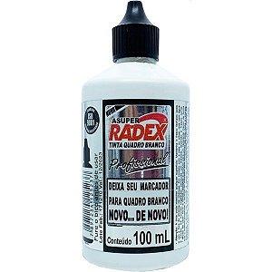 Tinta Marcador Quadro Branco Asuper Reabastecedor Pt 100Ml Radex