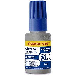 Tinta Marcador Quadro Branco Reabastecedor 0020Ml Azul Compactor