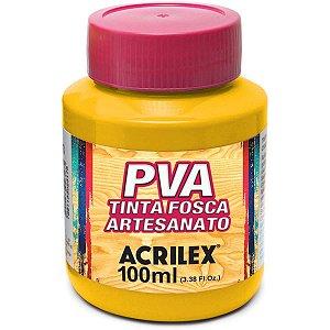 Tinta Pva Amarelo Cadmio 100Ml. Acrilex
