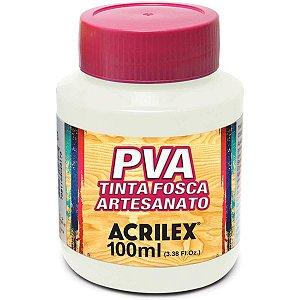 Tinta Pva Branco 100Ml. Acrilex