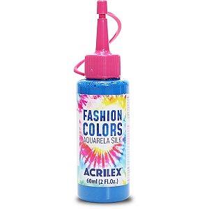 Tinta Tecido Aquarela Silk Fashion Colors Az.celeste 60Ml Acrilex