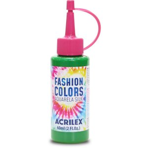 Tinta Tecido Aquarela Silk Fashion Colors Vd.band. 60Ml Acrilex