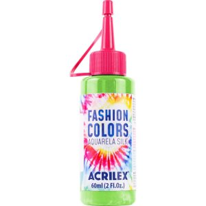 Tinta Tecido Aquarela Silk Fashion Colors Vd.folha 60Ml Acrilex