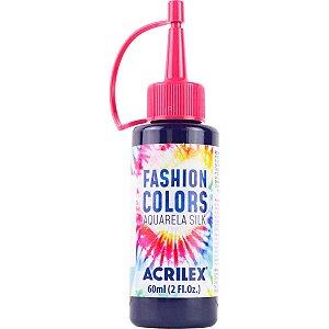 Tinta Tecido Aquarela Silk Fashion Colors Violeta 60Ml Acrilex