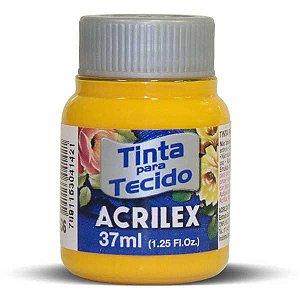 Tinta Tecido Fosca 037Ml Amarelo Cadmio Acrilex